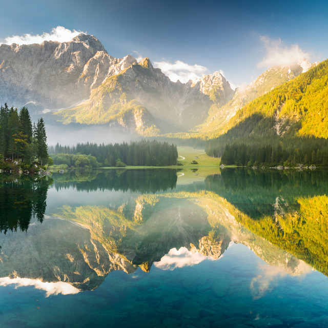 Picfair 01965077 mountain lake in the alps fu preview only