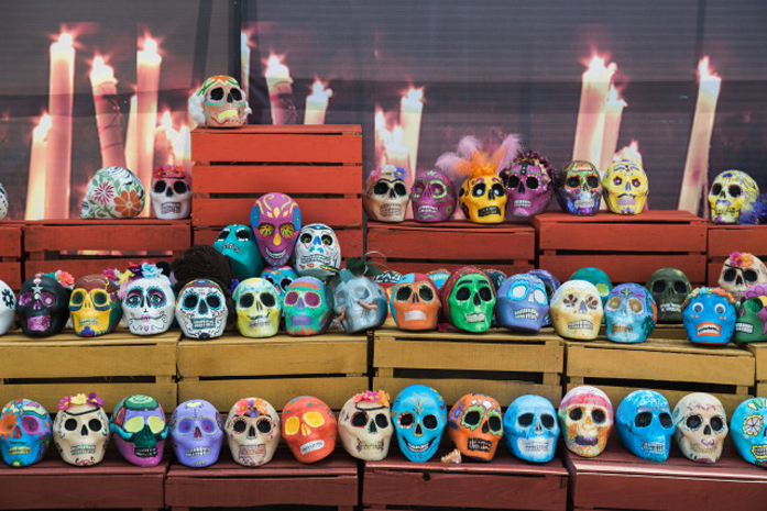 Standard picfair 03876394 a religious offering on day of the dead halloween in mexico sm preview only
